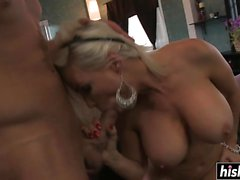Diamond Foxxx gets a raging pecker