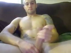 Str8 Muscle Dude & Dildo