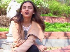 Jakten på orgasm - Ukrainska skönhets- Shrima Malati Leksaker hennes härlig knull