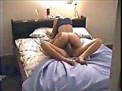 Hete chick on hidden cam