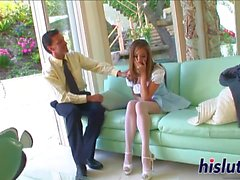 Stunning Jenna has her orgasmic beaver nailed