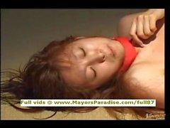 Тихиро Hara из idol69 девушкой Азии , кто наслаждается тюрьмы хрен