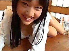A estudante japonesa amola