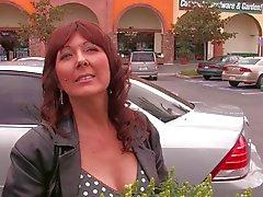 Hot readhead mom picked up at garden centre