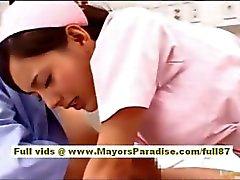 Di nao Yoshizaki sexy che Cinese ragazza vanta in una corsa dell'autobus