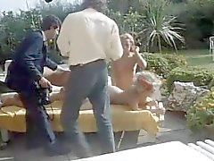 Vintage 80s Rocco Açık Hava Orgy