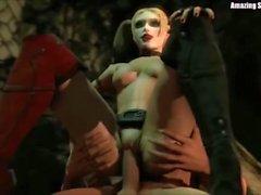 Batman Chicks 3D HD Hentai SFM Compilation