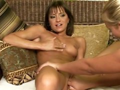 Lovemaking the lesbian way with Jessamine and Aiden on