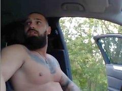 Ukrainisch Bearded Tätowierte Hunk (Jerk Off & Cum)