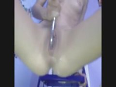 some hot girl play very nice and squirt