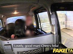 Gefälschte Taxi von Sicherheit vor großen mitten ins Gesicht gefangen