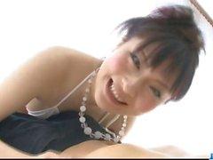 Rika Sonohara bekommt nach massiven mündliche schlucken