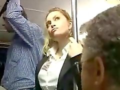 Sexy di Bionda Abused A Autobus