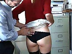 Aliciar Menina de escritório de do Virgin Shyla da Ryder fica anal fodidos