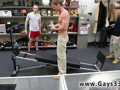 Muskel gerade Männer schlaffen Foto Homosexuell Fitness Trainer bekommt ein