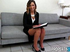 PropertySex Hot Jaye Summers Fucks Home Owner
