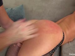 Sexy Jada Stevens fucked in both holes hard