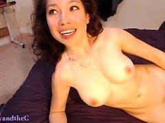 Asian de MILF puma gosta do Cum japonês