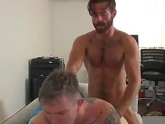 Horny Daddy Fuck His Own Son