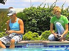Homosexuell XXX Herrliche Twinks von Camden Christianson und die Kaiden Ertel