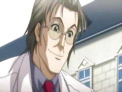 Vollbusigen Hentai Brünette bekommt ein Prüfung sowie einige Hintereingang