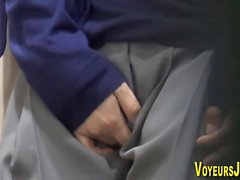 Asian visto masturbarsi
