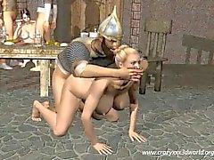 Animação em 3D : The Vikings Orgias