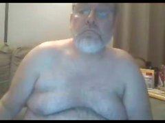 farfar stroke på webbkamera