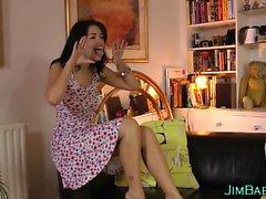 Подросток-британец ест мамаша пизда
