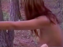 Old-school orgy in a forest