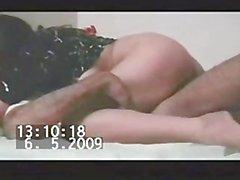 Paki La ragazza musulmano in Black kameez fotte 5 pollici Paki Pantera il pene