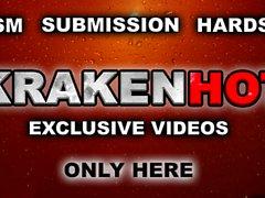 Krakenhot - BDSM público con una novia duro