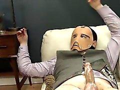 de luxo de BDSM a ação Análise com corda e filho da puta