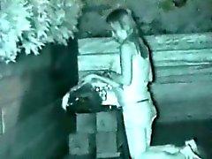 Pimeänäkö Spycam ulkona sukupuoli Todistaja