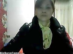 Grandma chinese Tiras de Desconto Em Her Clothes