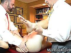 Mormon mot äldre arslet lekte