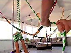 Cheerleader's bondage adventure