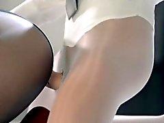 Super- sanftes dem Strapon Dildo erotischen Film