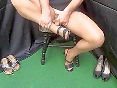 Cumshots Stockings Foot Fetish Wichsen X45