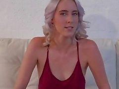 Святое Дерьмо! Блондинку берет BBC большле чем ней ARM !