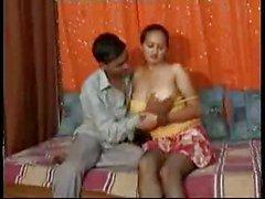Desi , Intian , kaksikko on lesbo kolmikko