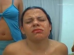 spit humiliation brazil