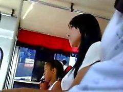 Caja en el de autobuses