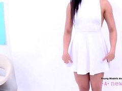 Hot Model is fucked at casting photoshoot POV