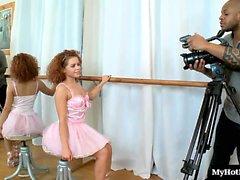Ballerines de Latina Jolie , Averses de , permet à une man de forte carrure worsh black