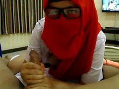 Hijab High Student Cosplay