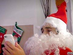 Spizoo - Watch Jessica Jaymes ficken Santa Claus, große Brüste