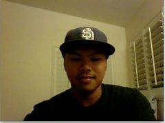 straight guys feet on webcam - asian teenager