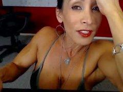 Denise On Webcam