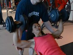 Petra Urbánková - Bodyfitness egzersiz programı
